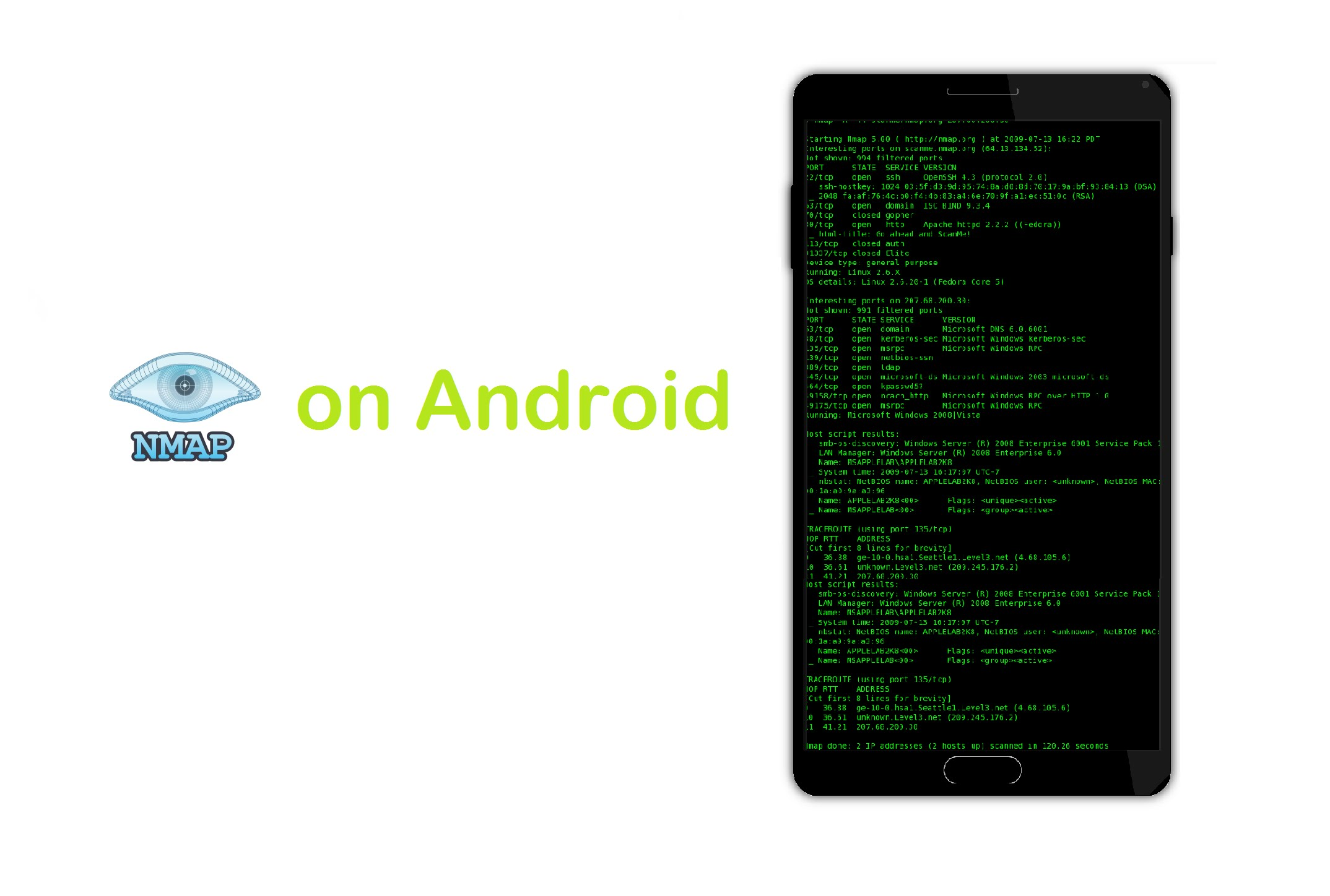 ANDROID FOR TÉLÉCHARGER GRATUIT NMAP